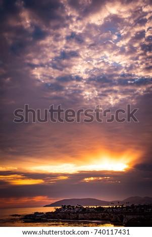 Shell Beach Sunset #740117431