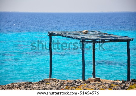Shelter along the bay of pigs, Cuba
