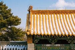 Shenyang Beiling in winter