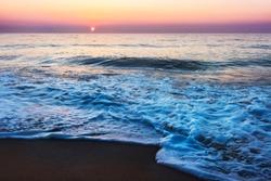 sherbert sunrise in ocean city