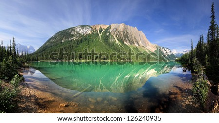 Sherbrooke Lake, British Columbia, Canada  Start Point Hike is Approx 30 Miles West of Lake Louise Approx.3/4 hour easy Hike, One way
