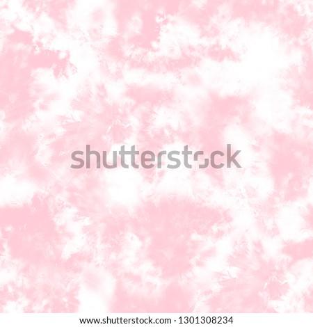 Shibori, tie dye, abstract batik brush seamless and repeat pattern design Stock foto ©