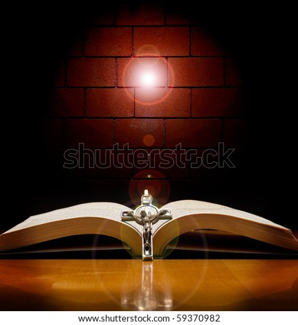 Shining a Light on Faith Conceptual Image