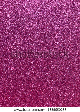shining glitter texture background. Selective focus.Shallow dof. #1336550285