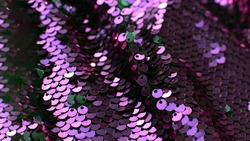 Shining macro background of many sequins