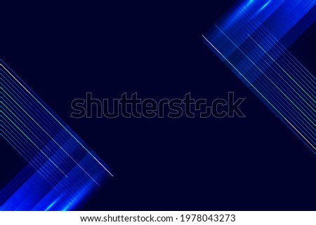 shiny blue diagonal lines abstract design on navy blue background.jpg  Сток-фото ©