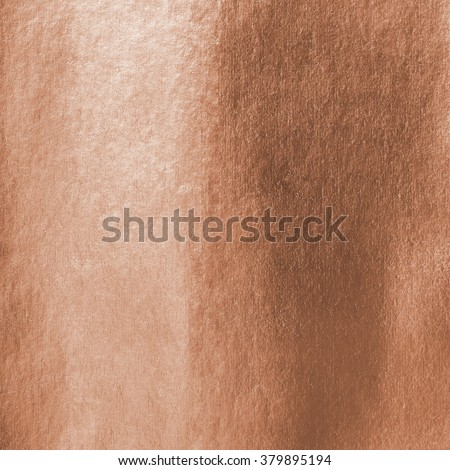 Shiny bronze brass copper paper foil decorative texture background: Bright brilliant festive glossy metallic look textured backdrop:  Metal steel like material pattern surface for design decoration