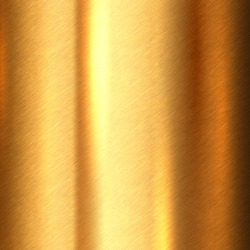 Shiny brushed metallic gold background texture. Bright polished metal bronze brass plate. Sheet metal glossy shiny gold