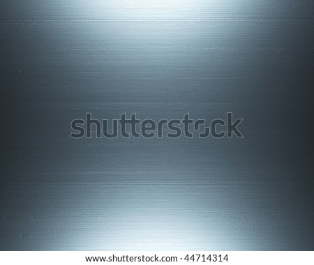 Shiny Brushed Steel. Texture or background