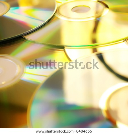shiny CD background