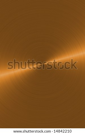 Shiny copper background