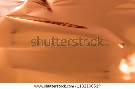 Shiny copper foil for printing work , hot foil ,  texture background #1132100519