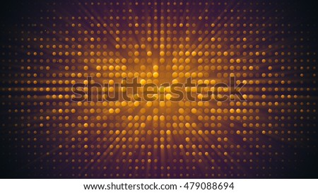 Shiny disco wall. Computer generated abstract party background
