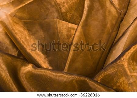 Shiny fabric texture - stock photo