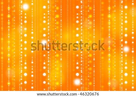 Shiny light oragne gradient background