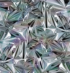 shiny Silver foil background, crumpled silver foil shiny surface texture background