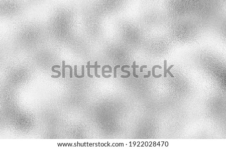 Shiny Silver foil texture for background. Gray platinum metallic texture. Silver background from metal foil on cardboard decorative texture. Premium and luxury design.
