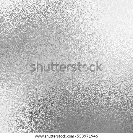 Shiny silver foil texture, grey metallic decorative background