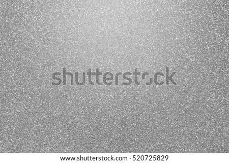 Shiny silver white grey gray color foil glitter decorative texture paper: Bright brilliant festive metallic textured empty wallpaper backdrop: Tin metal material for holiday craft design decoration