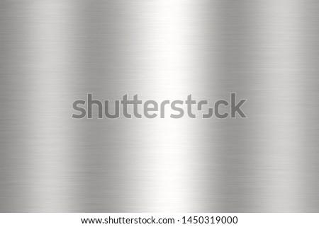shiny steel surface reflecting light