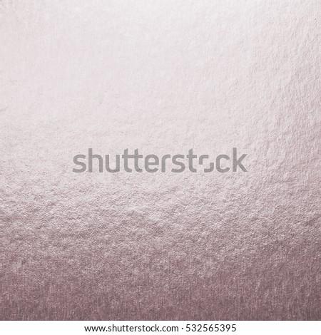Shiny sweet pink rose gold purple bronze silver color decorative texture paper: Bright brilliant festive glossy metallic empty wallpaper backdrop: Aluminium tin metal material craft design decoration