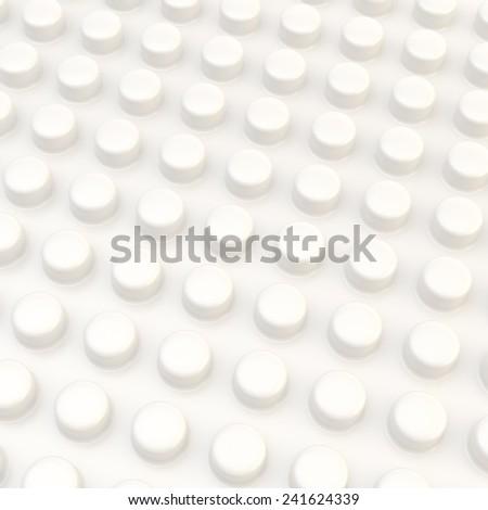 Shiny White Plastic Shiny White Plastic Surface