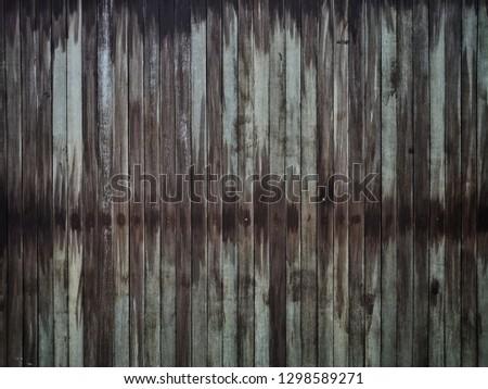 Shiny wood and shiny black #1298589271