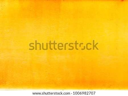 Shiny yellow leaf gold foil texture background #1006982707