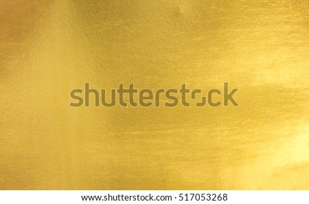 Shiny yellow leaf gold foil texture background #517053268