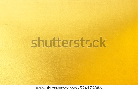 Shiny yellow leaf gold foil texture background #524172886