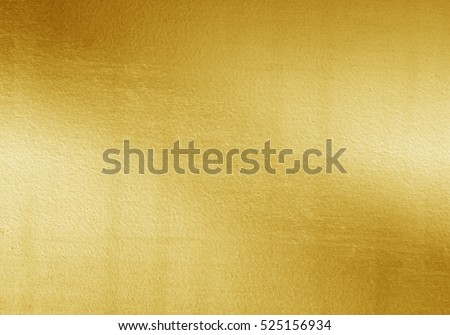 Shiny yellow leaf gold foil texture background #525156934