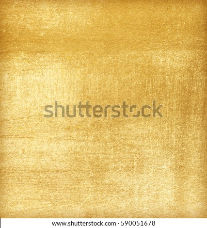 Shiny yellow leaf gold foil texture background #590051678