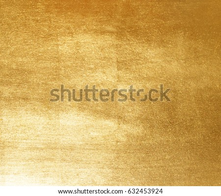 Shiny yellow leaf gold foil texture background #632453924
