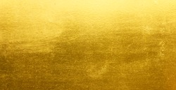 Shiny yellow leaf gold metall texture background