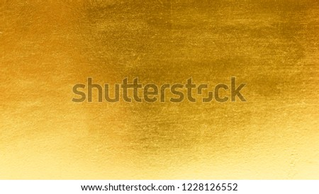 Shiny yellow leaf gold metall texture background #1228126552