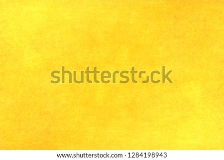 Shiny yellow leaf gold metall texture background #1284198943