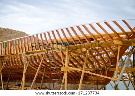 ship building of new boards