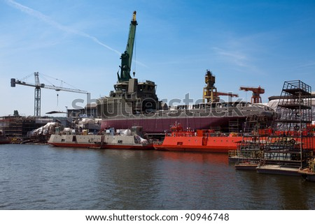 Ship building, ship repair...