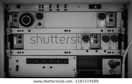 Ship Buttons Control Panel #1185519688