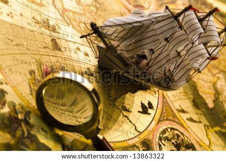 Ship & Compass
