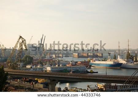 Ship-repair yard