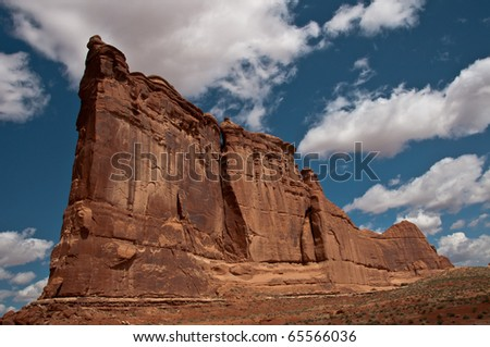 Ship Rock Of State, Arches National Park