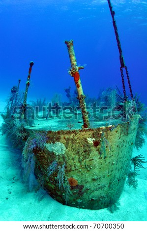 Ship Wreck of the Oro Verde Navy Vessel Grand Cayman Caribbean