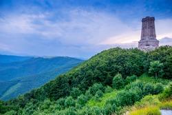 Shipka memorial in the Balkan Mountains of Bulgaria