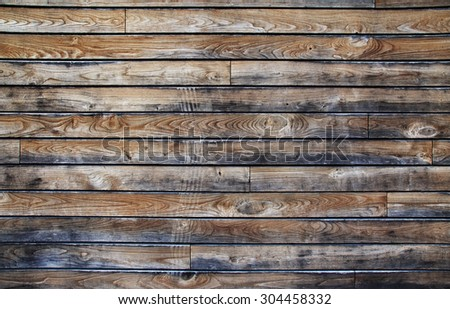 Shiplap Natural Wood Texture Background 304458332