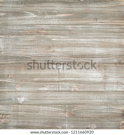 Shiplap Wood Boards Background with brown, white, and grey tones.  Almost Square with blank area for your words, text, copy or design.  The faux paint is rustic, distressed and a color photo.