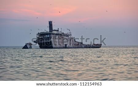 Shipwreck Francisco Morazan, South Manitou Island, Lake Michigan Sleeping Bear Dunes