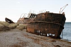 Shipwreck - Magellan Strait - Chile