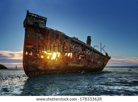 Shipwreck - Motueka Stock fotó ©