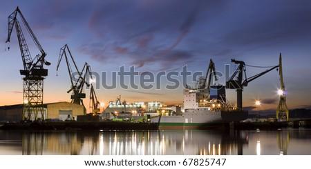 Shipyard (panorama)